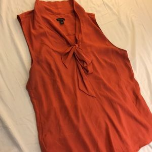 Rust Ann Taylor Too with Front Tie, Size L
